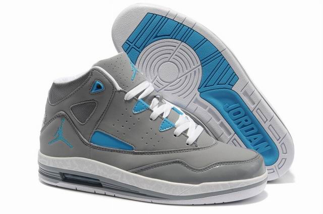 Cheap Jordan Jumpman H Series II Grey White Blue Shoes