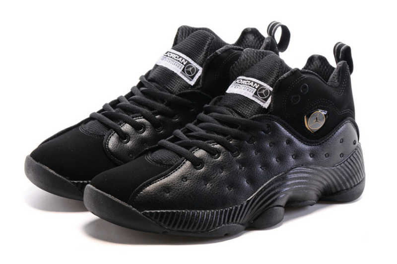 Air Jordan Jumpman Team II All Black Shoes