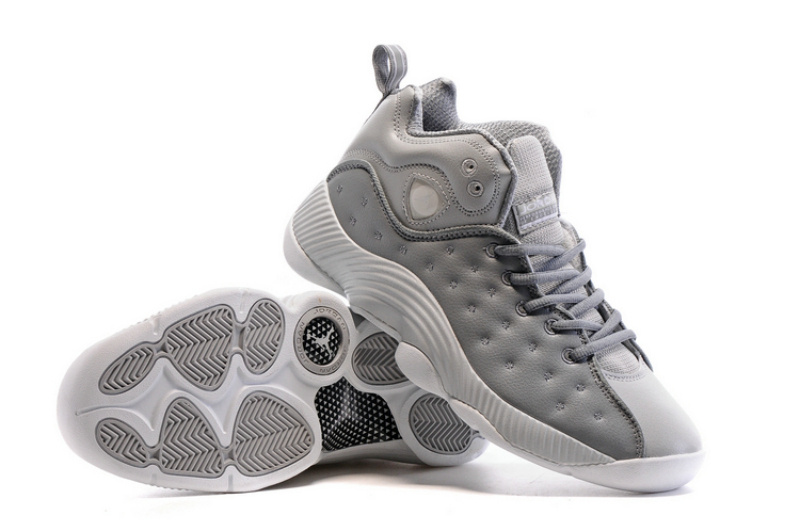 Air Jordan Jumpman Team II All Grey Shoes