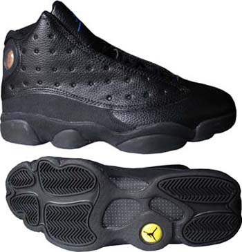 Jordan 13 Retro All Black Shoes