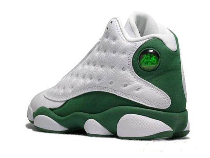 Air Jordan 13 Vert Et Blanc