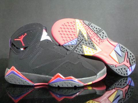 Jordan 7 Retro Dark Red Blue