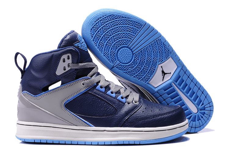 Air Jordan Sixty Club Blue Grey Shoes
