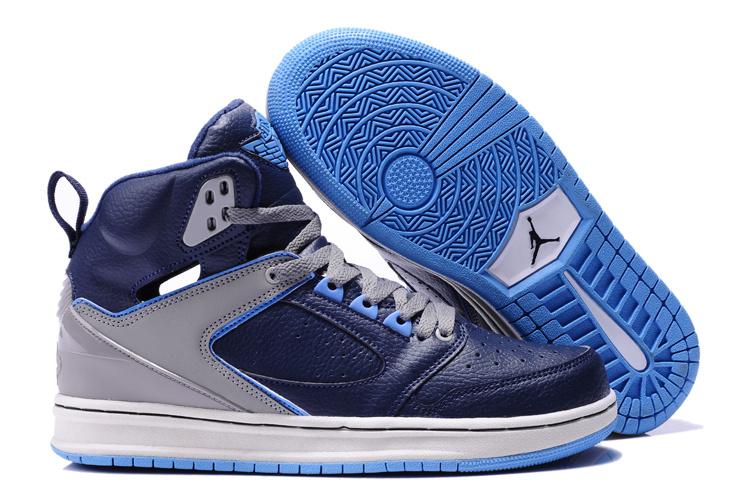 Air Jordan Grey Blue