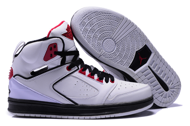 Air Jordan Sixty Club White Black Red Shoes