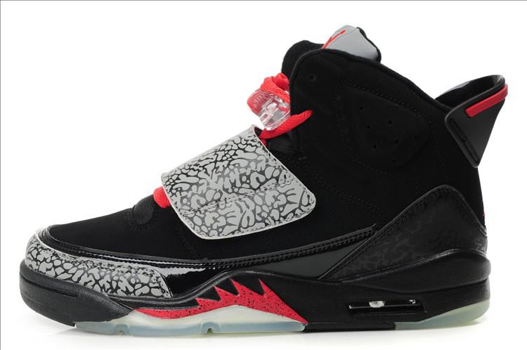 Real Air Jordan Son Of Mars Black Grey Red