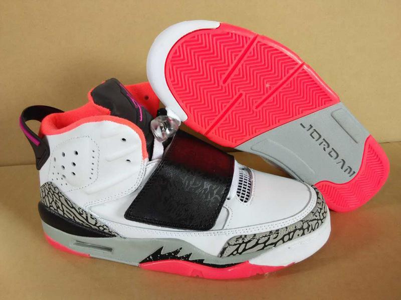 Air Jordan Son of Mars White Grey Red Shoes