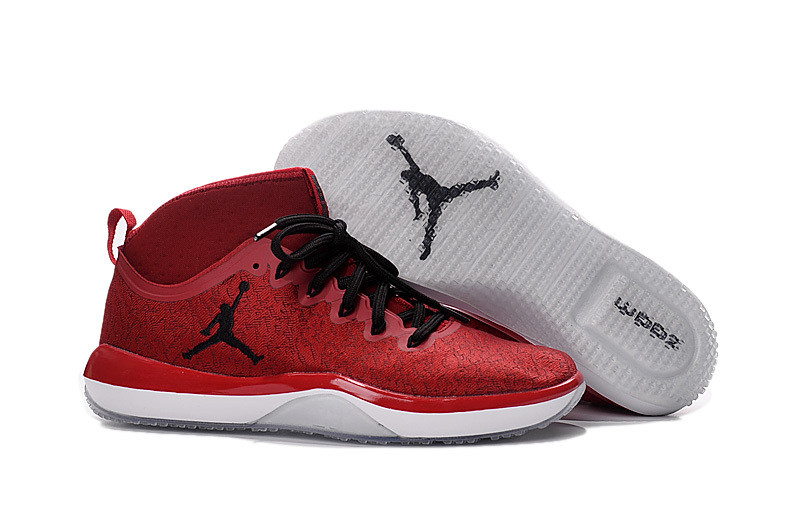 Air Jordan Training Shoes 1 Low Red Black