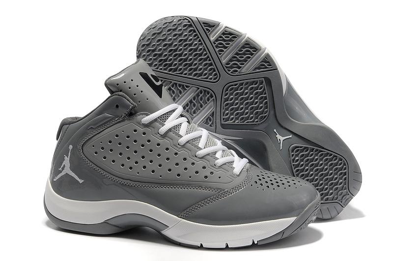 Classic Jordan Wade 2 Grey White Shoes