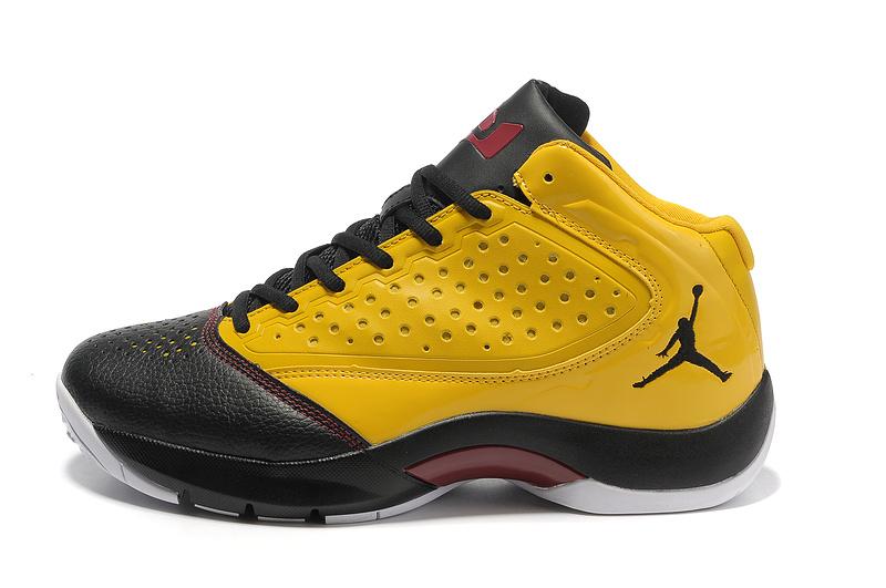 Classic Jordan Wade 2 Simple Edition Black Yellow