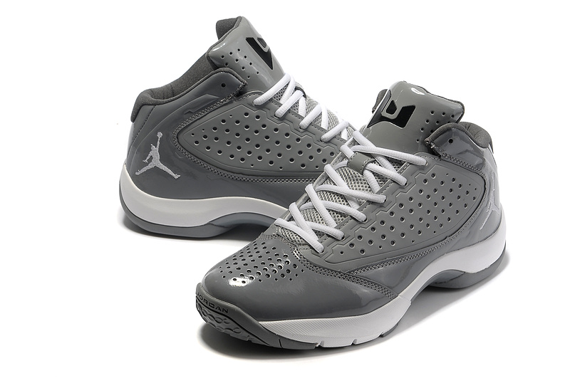 Classic Jordan Wade 2 Simple Edition Grey White