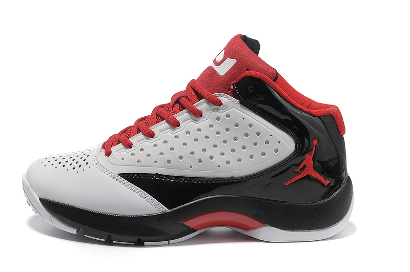 Classic Jordan Wade 2 Simple Edition White Black Red