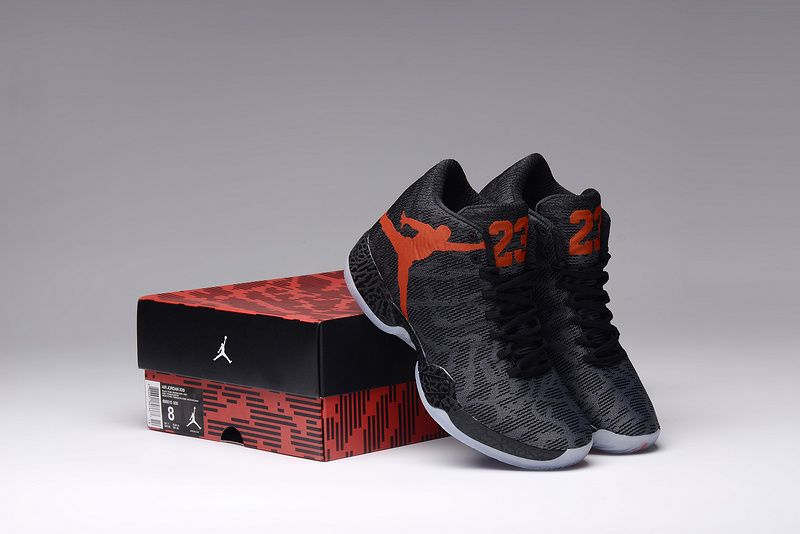 New Women Air Jordan- 29 Black Orange Shoes