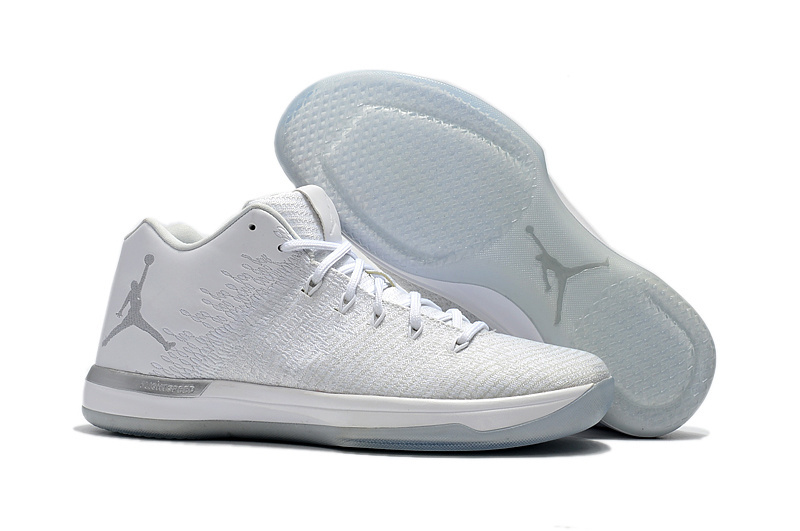 Air Jordan XXXI Low All White Shoes