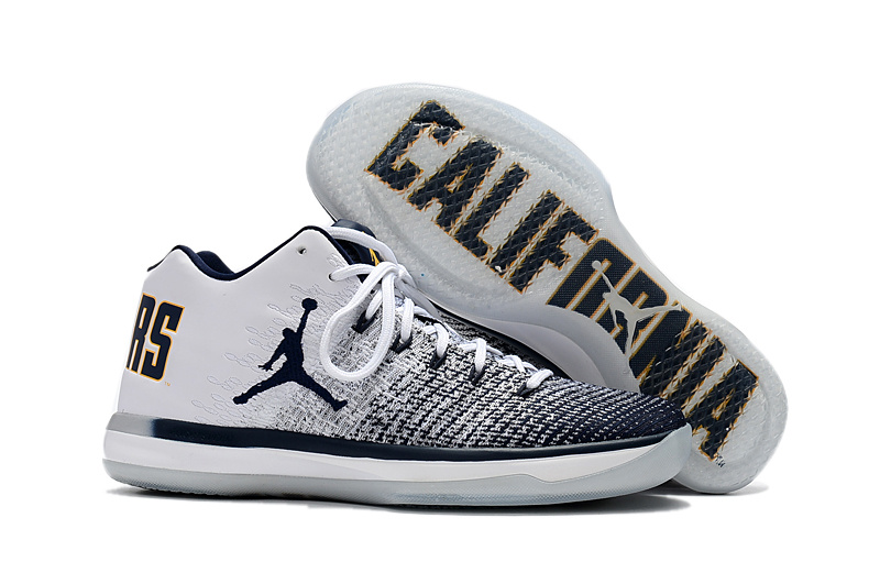 Air Jordan XXXI Low California Black White Shoes
