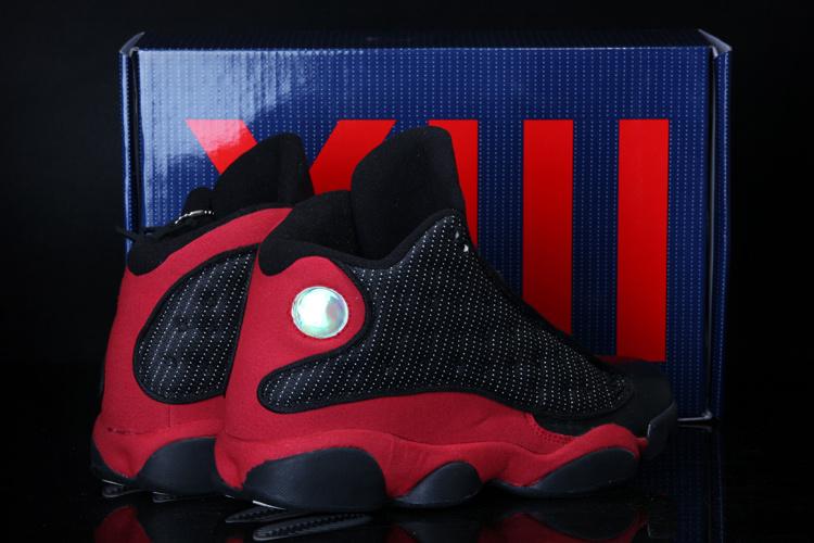 Cool Summer Air Jordan 13 Black Red Shoes
