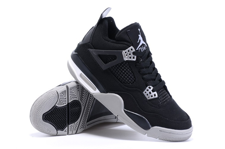 Eminem x Carhartt x Air Jordan 4 Black White Shoes