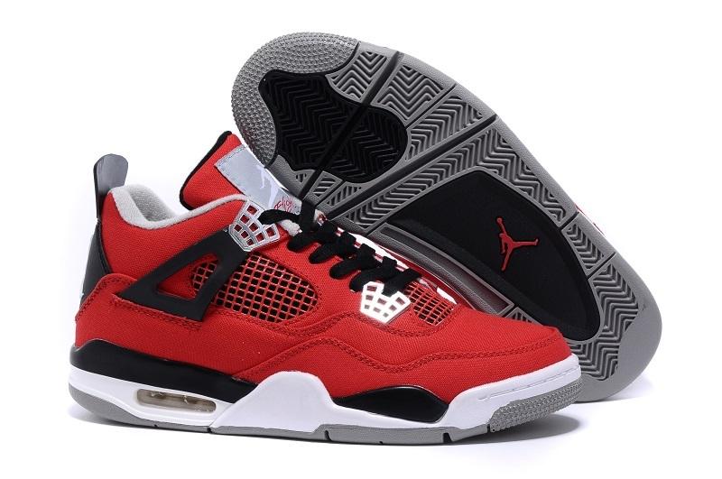 Eminem x Carhartt x Air Jordan 4 Red Black White Shoes