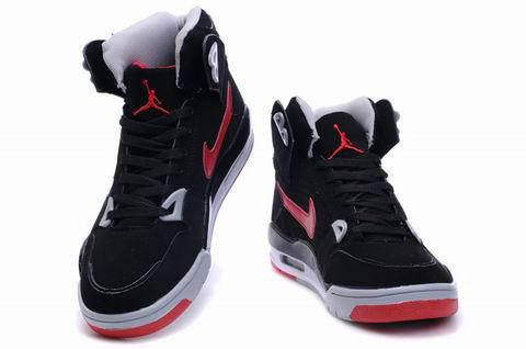 High Heel Air Jordan 4 Black Red Grey Shoes