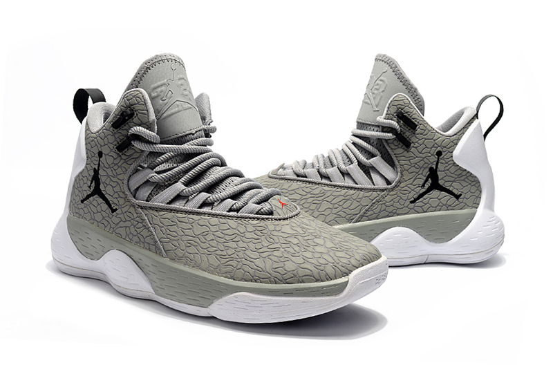 Jordan Super Fly MVP Wolf Grey Shoes