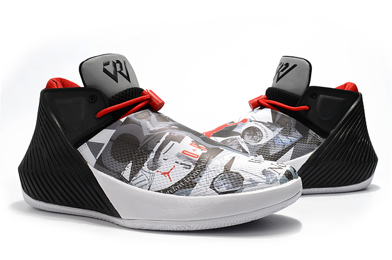 Jordan Why Not Zero.1 Grey Black Red Shoes