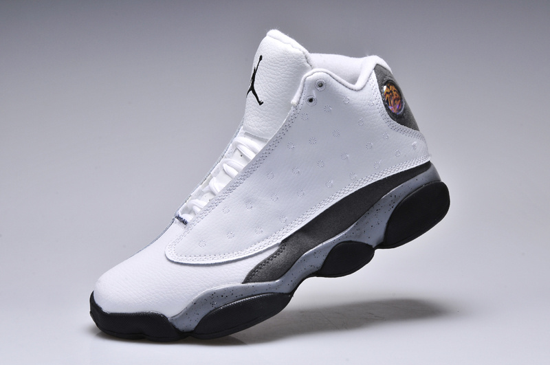 New Arrival Jordan 13 Oreo Edition White Black Shoes