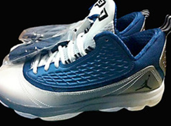 Jordan CP3 2 Blue Silver White Shoes