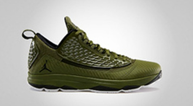 Jordan CP3 2 Green Brown Shoes