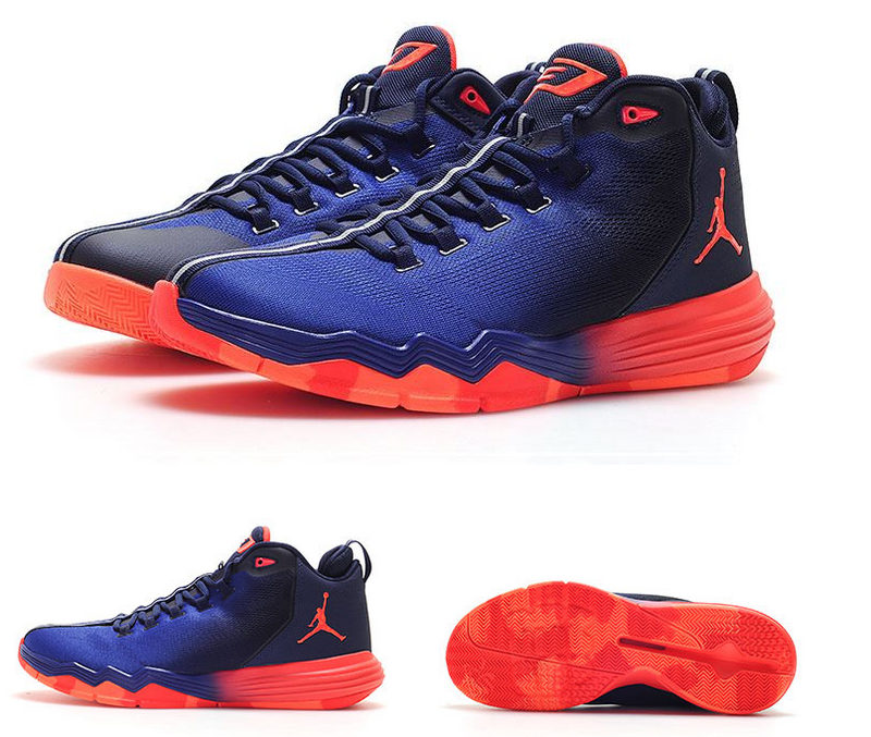 Jordan CP3 IX AE Blue Red Black Shoes