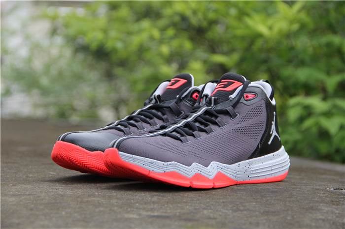 Jordan CP3 IX AE Grey Black Red Shoes