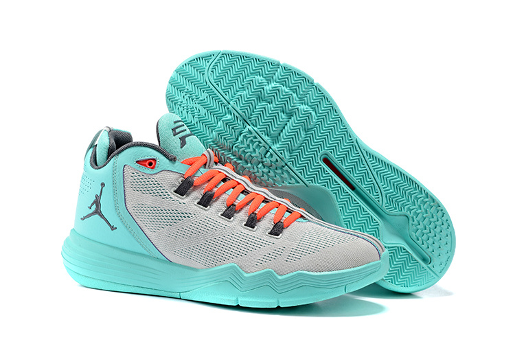 Jordan CP3 IX AE Grey Jade Shoes
