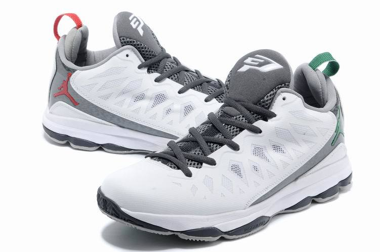 Jordan CP3 VI White Grey Basketball Shoes