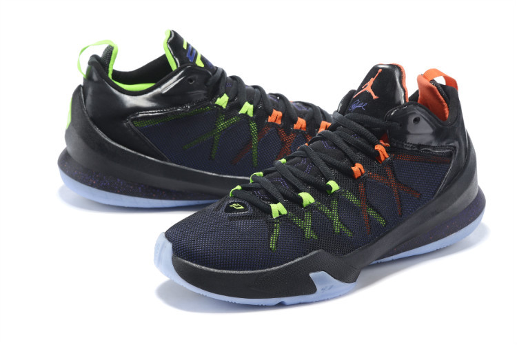Jordan Chris Paul 8 Playoffs Black Shoes