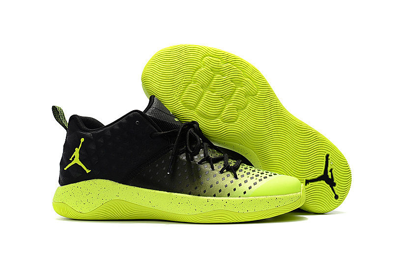 Jordan Extra.Fly Black Fluorscent Green Shoes