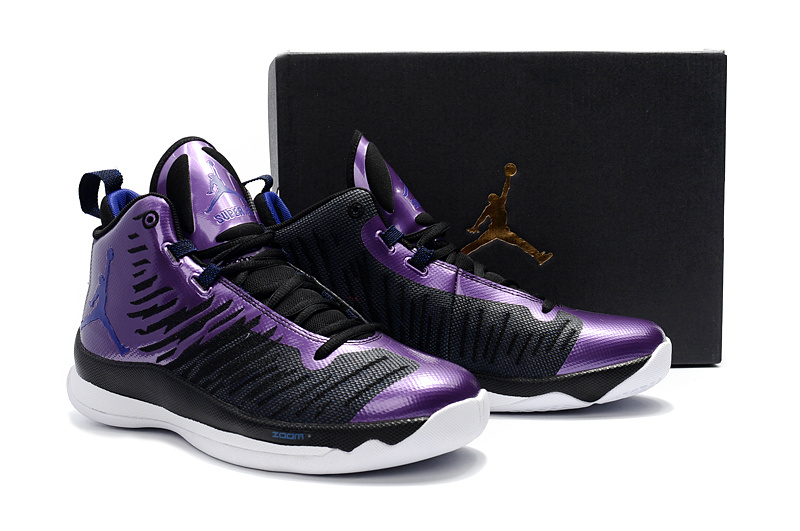 Jordan Extra.Fly Black Purple Shoes