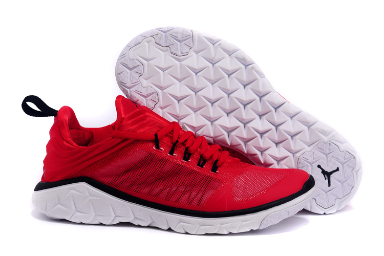 Jordan Flight Flex Trainer Red Black White