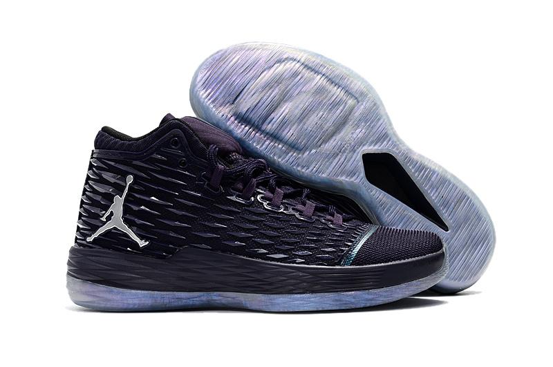 Jordan Melo 13 Black Blue Shoes