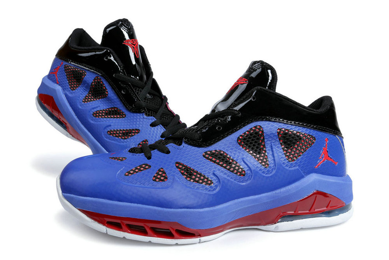 Latest Jordan Melo 8 Blue Red White Shoes