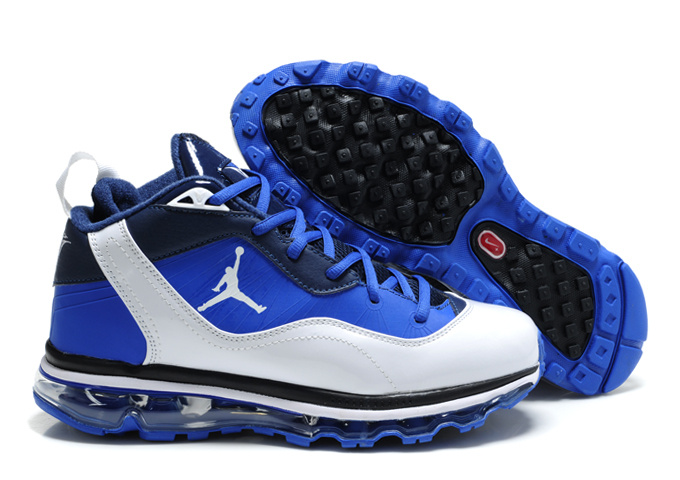 Air Jordan Melo M8+Max 09 Blue White Black Shoes