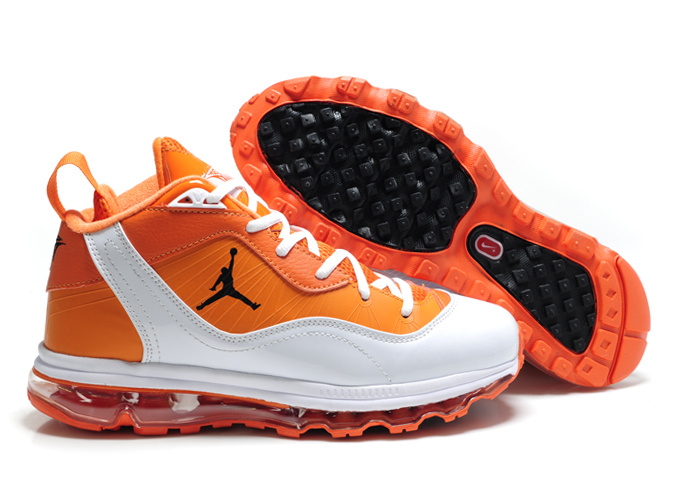 Air Jordan Melo M8+Max 09 Orange White Shoes