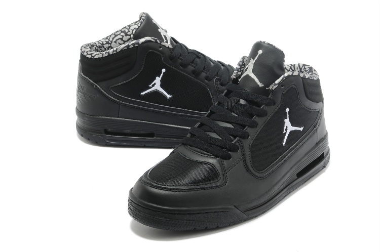 2013 Jordan Post Game All Black Shoes