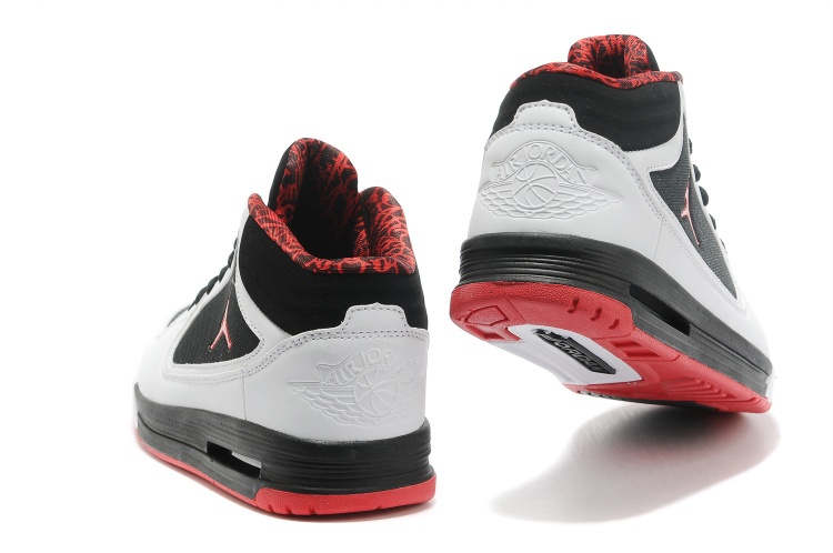 2013 Jordan Post Game Black White Red Shoes