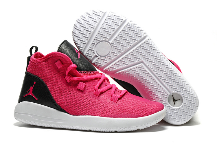 Jordan Reveal GS Pink Red Black White Shoes