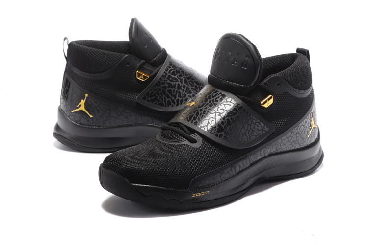 Jordan Super.Fly 5 Black Gold Shoes