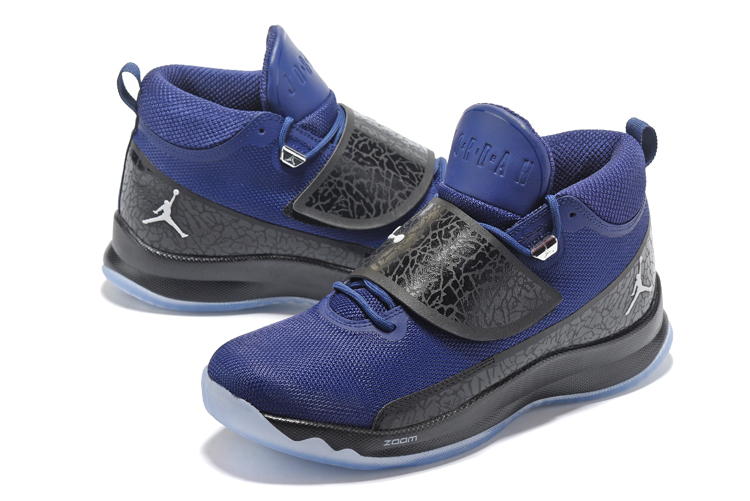Jordan Super.Fly 5 Royal Blue Black Shoes