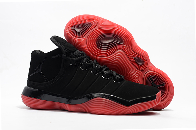 Jordan Super.Fly 6 Black Red Shoes