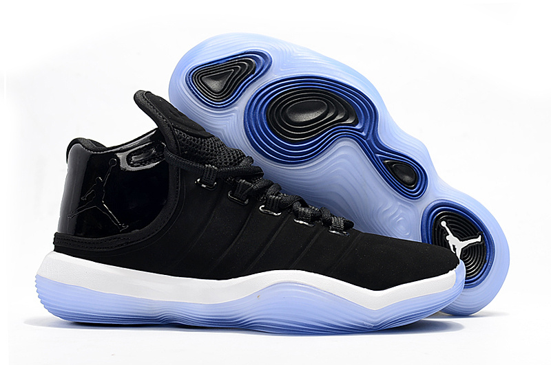 Jordan Super.Fly 6 Black White Blue Shoes