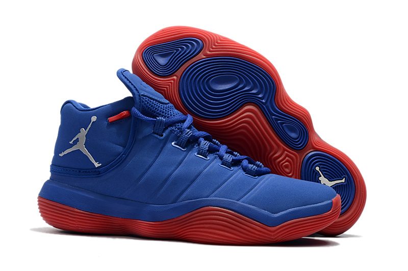 Jordan Super.Fly 6 Blue Red Shoes