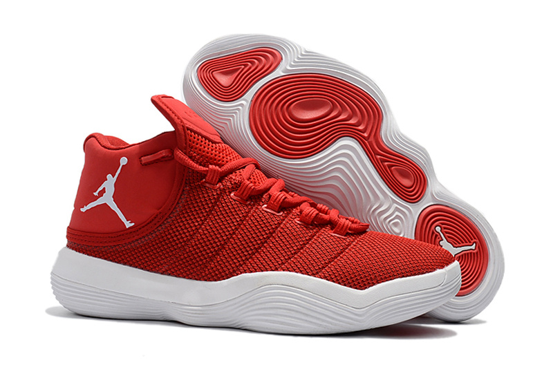 Jordan Super.Fly 6 Red White Shoes