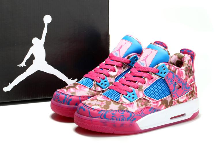 Limited Air Jordan 4 Pinkp Rose For Women